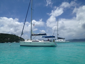 """In Recess"" at Jost Van Dyke"